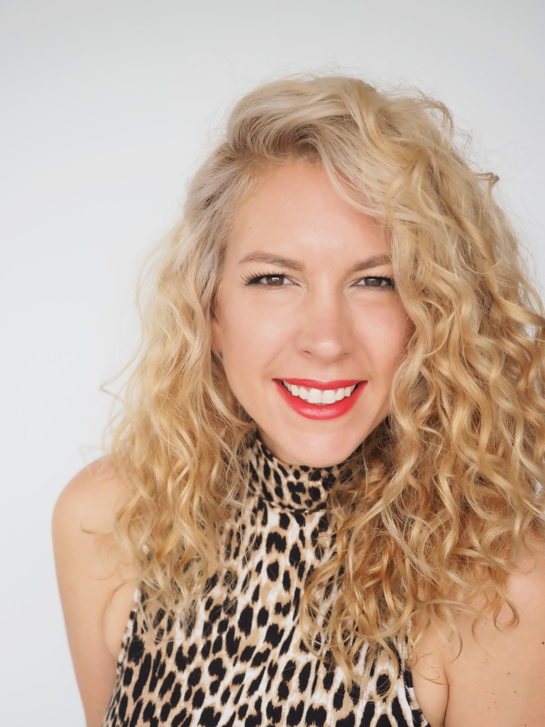 A real curly girl! Christine Butcher from Hair Romance