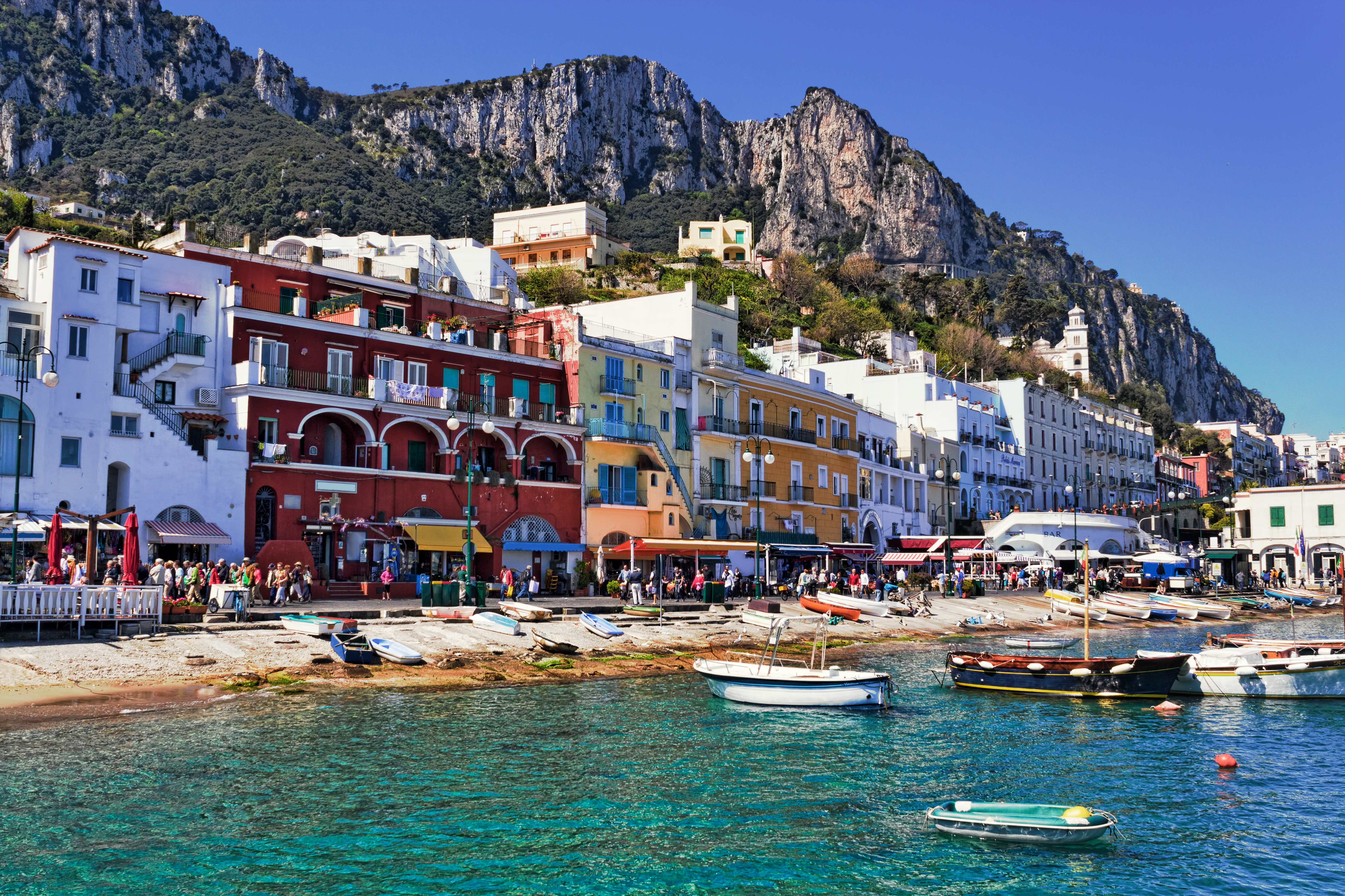 Lucky Dip: Beach Front in Capri