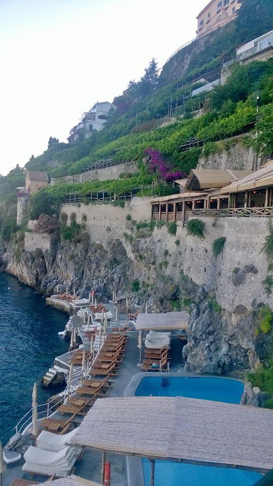 The restaurant at Hotel Santa Caterina